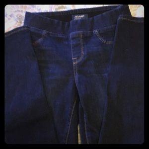 """Old Navy """"Rockstar""""  slim fit jeggings/ jeans."""